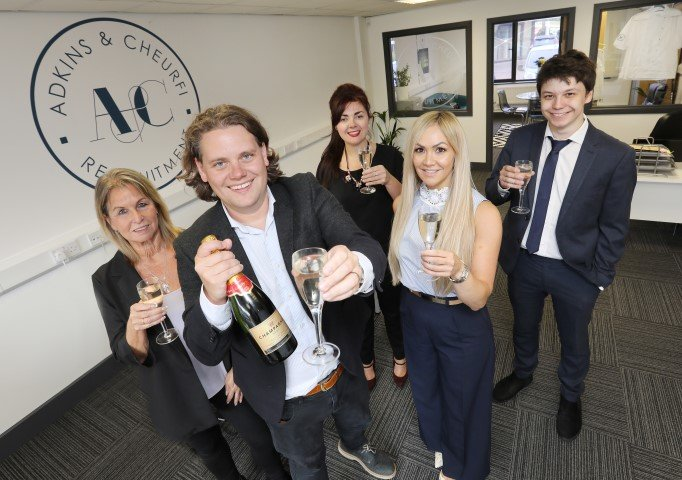 Growing North East recruitment firm scoops major business award