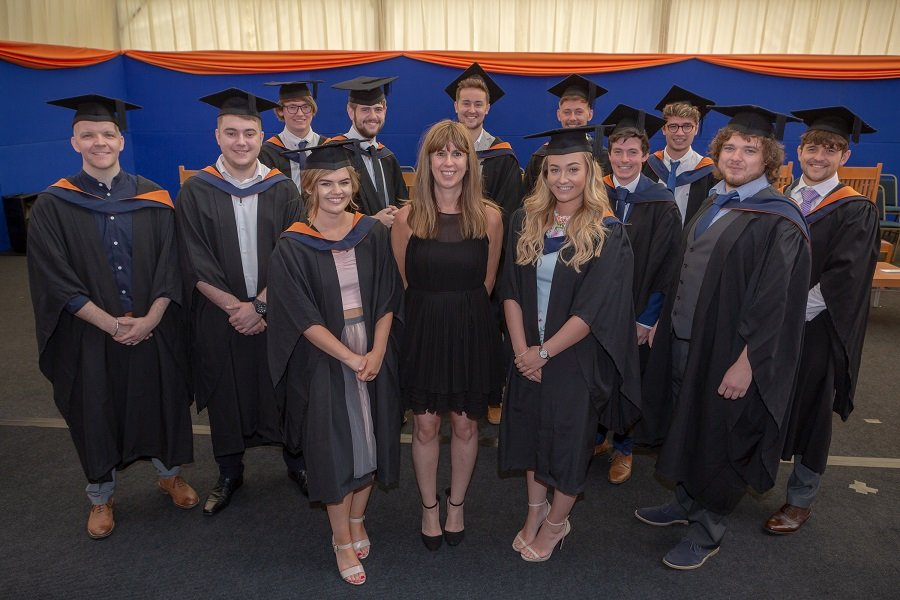 Sunderland Degree Apprentices wired for success