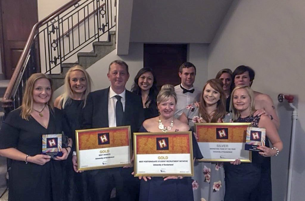 Triple success as University steals the show at HEIST Awards