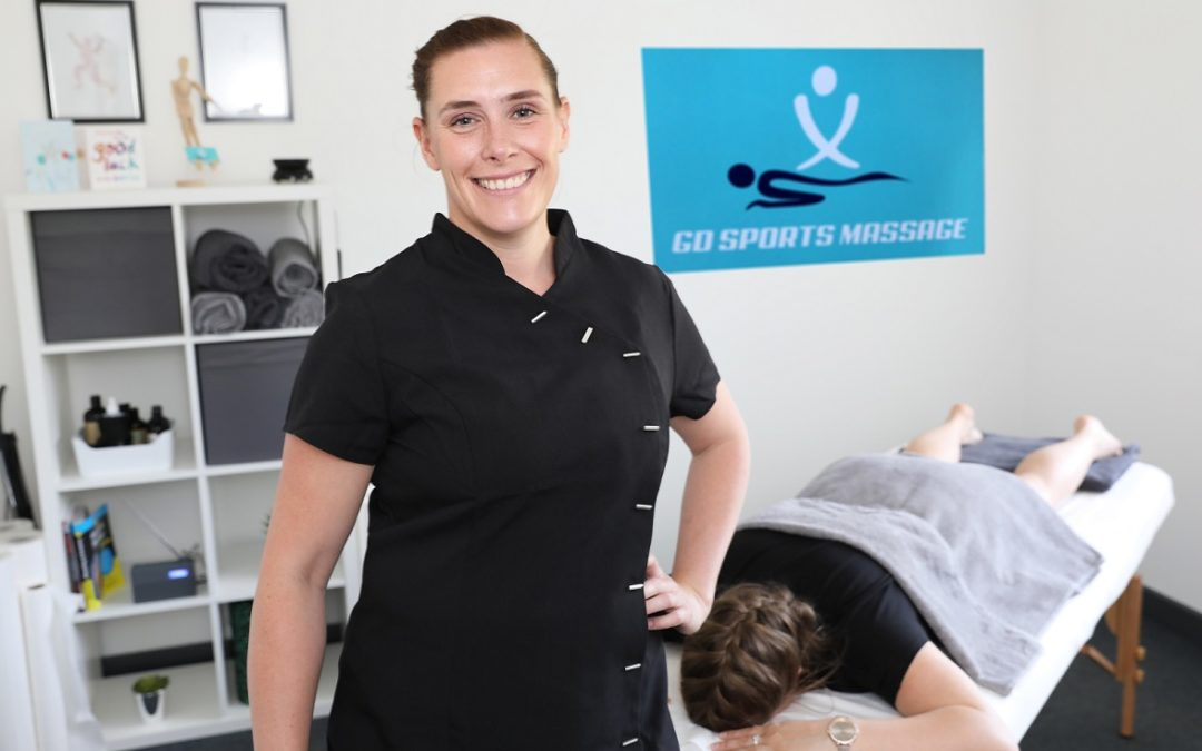 Fitness instructor turns entrepreneur with sports massage venture