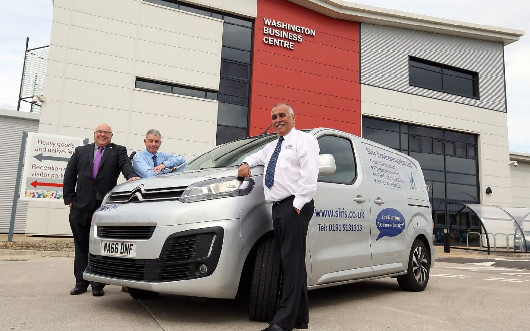 Growth flowing to Sunderland waste water company