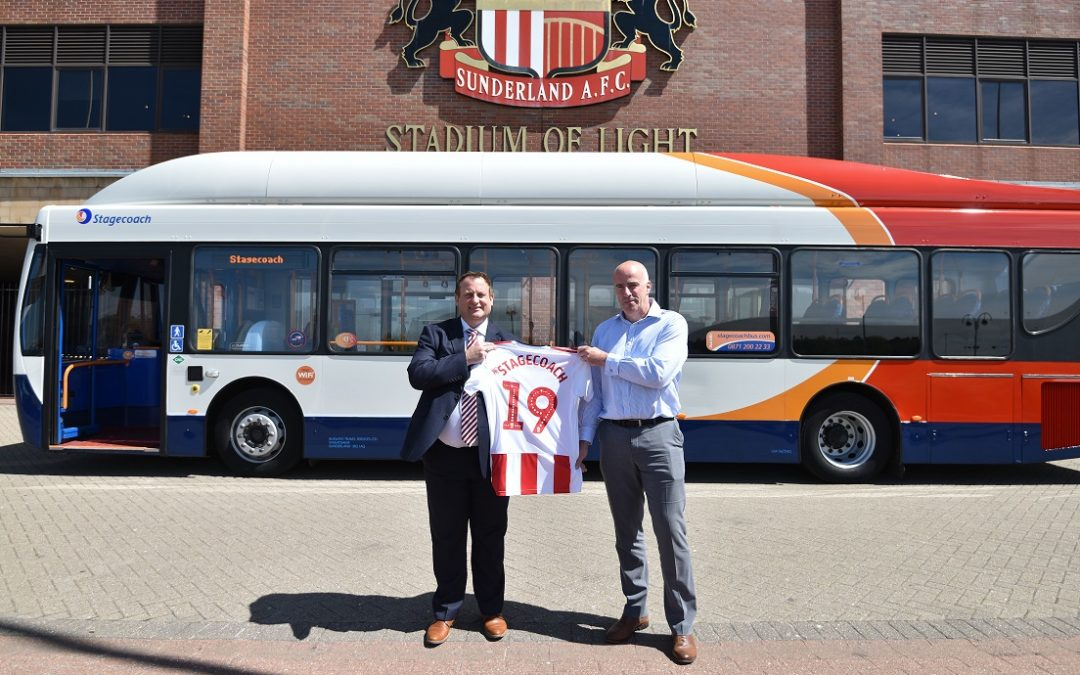 Stagecoach North East jump on board with Sunderland AFC
