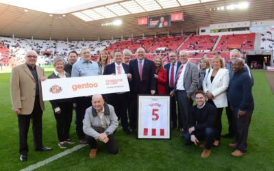 Gentoo scores community partnership with Sunderland AFC and Foundation of Light