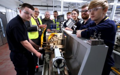 Schools Minister takes tour of Sunderland College's £30m City Campus ahead of T-Level launch