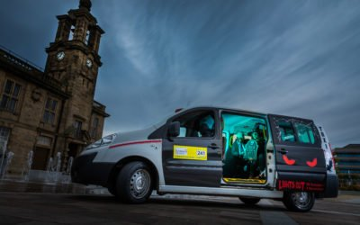Sunderland taxi firm gets in the Halloween spirit