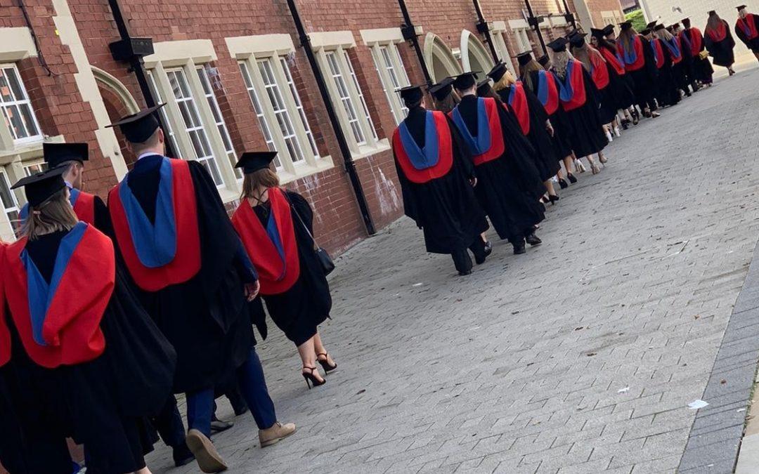 Students honoured at prestigious graduation ceremony