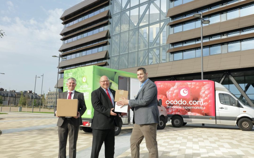 Ocado Group moves into The Beam with first recruits in post