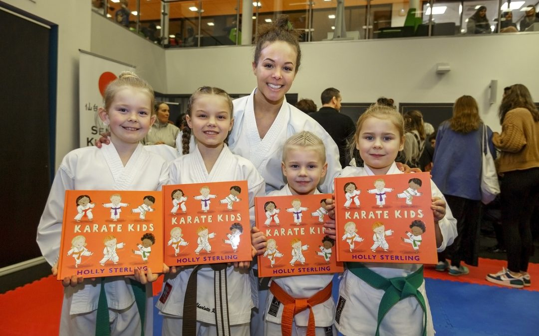 Holly's hitting the big time thanks to Karate Kids