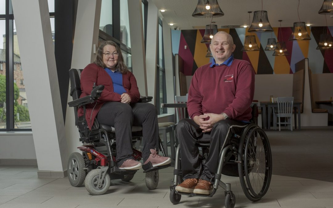 Kathryn Barnett and Gary Nicholson from Regeneration NE