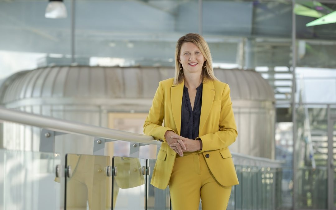 Rachel Smith, new Director of the National Glass Centre
