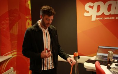 Jordan North returns to his roots to officially unveil new Spark studio
