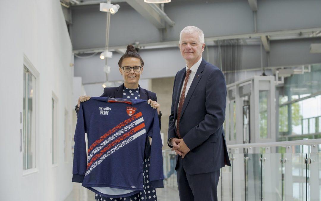 History-changing female football referee awarded University fellowship