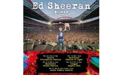 Ed Sheeran announces shows at Stadium of Light